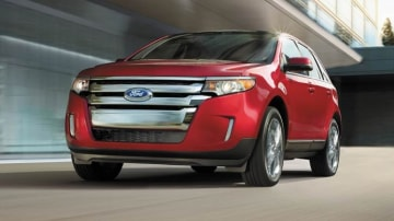 The 2014 Ford Edge.