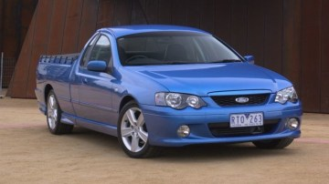 BA Ford Falcon Ute.