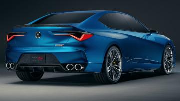 Acura Type S concept unveiled