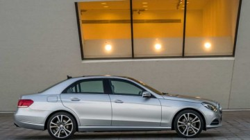 New Mercedes-Benz E-Class sedan.