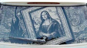 Scott Wade's 'Mona Lisa - Starry Night: Peak'.