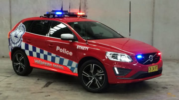 NSW Police have taken delivery of Volvo XC60 patrol vehicles.