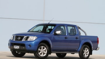Nissan has discounted its RX Navara ute (ST-X model shown).