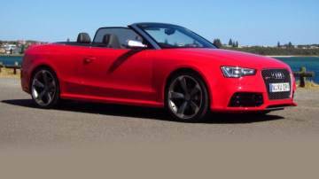 2014 Audi RS 5 Cabriolet Review