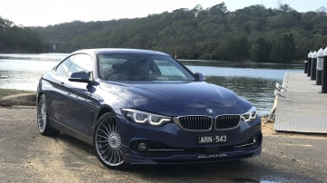 Alpina's B4 S builds on the BMW 440i coupe.