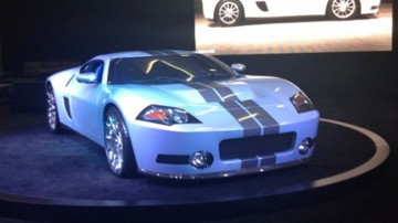 Some of LA's most exotic collectors cars on display at the Los Angeles motor show.
