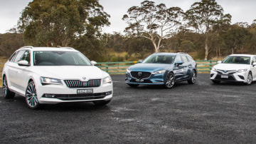 Drive Car of the Year 2018 group shot