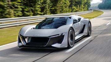 Audi unleashes hi-tech PB18 e-tron concept car