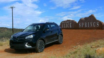 The GS' hot weather testing program took place in the northern territory.