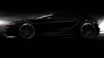 Volkswagen Teases Gran Turismo Vision Concept: New Scirocco?