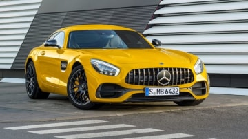 Mercedes will debut a stretched version of its GT performance car to target the Porsche Panamera.