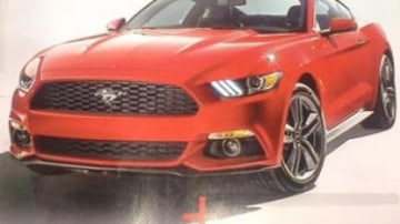 Ford Mustang leaked ahead of debut