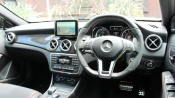 Interior of Mercedes-Benz GLA45 AMG