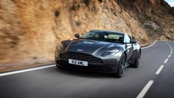 The new Aston Martin DB11.
