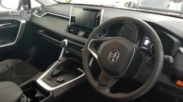 2020 Toyota RAV4 GXLl (AWD) Hybrid interior