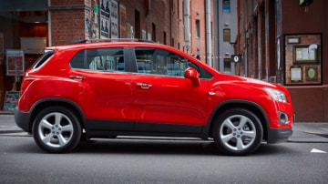 Holden has revealed its facelifted Holden Trax compact SUV.