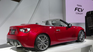 Toyota has reportedly abandoned plans to build a convertible 86. Photo: Newspress