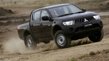 Mitsubishi's Triton dual-cab ute will give Patrick the best chance of securing extra goodies on top of his requirements.