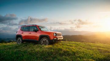 Jeep Renegade Trailhawk.