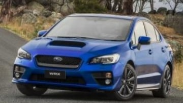The Subaru WRX provides all-wheel drive traction and turbocharged performance.