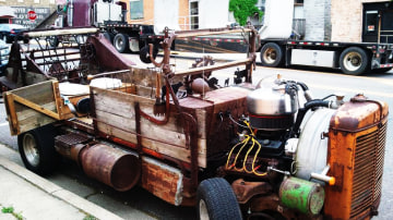 Wooden Car Spotted In The US, And It's Not A Morgan