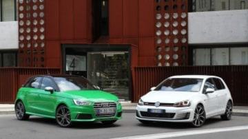 Audi S1 Volkswagen GOlf GTI head to head