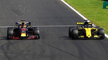 Daniel Ricciardo and Nico Hulkenberg.