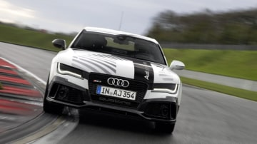 Audi has developed a driverless car that can lap a racetrack as fast as a enthusiast driver