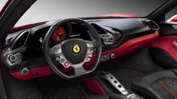2015 Ferrari 488 GTB.