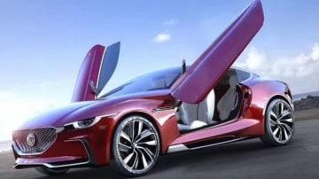 MG reveals E-Motion electric car concept