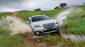 2016 Subaru Outback.