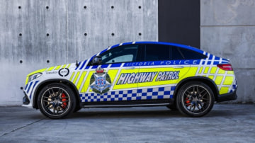Victoria Police Mercedes-AMG GLE63 Coupe