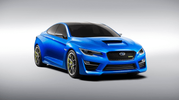 Subaru fans will have to wait to see a new WRX (concept pictured)