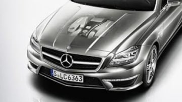 AMG blasts in with bi-turbo CLS