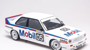 Biante Peter Brock BMW M3 model car.