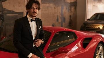 Jarrod Scott is lucky enough to have Ferrari lend him a Ferrari when he is in Australia.