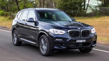 Luxury SUV comparison: BMW X3.