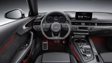 2016 Audi S4 interior.