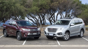 Head to head: Toyota Kluger v Haval H9