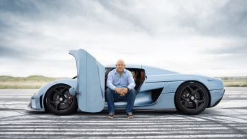 Christian von Koenigsegg isn't worried about his new competition.