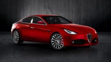 The Alfa Romeo Giulia will be revealed in June.