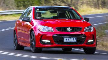 2017 Holden Commodore SS-V Redline.