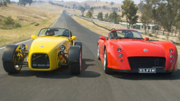 Elfin Sports Cars celebrates its 50th anniversary with a new owner, Scottish motor racing entrepreneur Tom Walkinshaw.