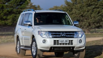 The Mitsubishi Pajero Diesel blends  the Toyota's rough-stuff abilities with some of the Ford's on-road grace.