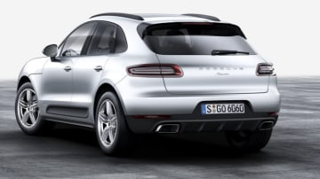 2017 Porsche Macan four-cylinder.