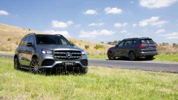 Drive Car of the Year Best Upper Luxury SUV group shot