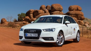 Audi's A3 1.4 TFSI Cylinders on Demand is put to the test through an outback economy test.