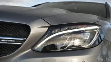 Mercedes-AMG C 63 T-Modell palladiumsilber metallic Mercedes-AMG C63 S Wagon