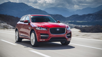 2019 Jaguar F-Pace.