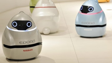Nissan EPORO Robot Car Concept Aims To Bring Collision-Free Driving